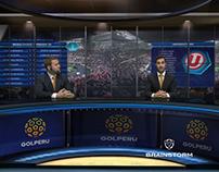 Virtual Set Sport Gol Peru