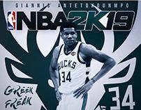 NBA2k19 Concept Project (Giannis Antetokounmpo)