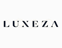 LUXEZA — Brand name. Logo design.