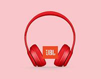 Gráfica Auriculares JBL: Relájate