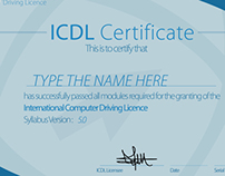ICDL Certificate Syllabus Version : 5.0 ( NOT OFFICIAL)