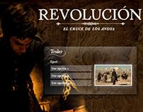 Diseño de sitio Revolucion // San Matín