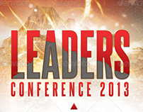 Leadership Conference Church Flyer Template