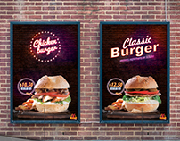 Ohannes Burger | Outdoor Posters