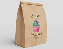 Logo design for Small cupcake studio
