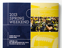 2013 Spring Weekend Program Cover