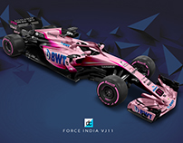 2018 Force India F1 Concept Liveries
