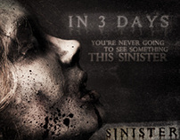 Sinister | Entertainment Campaign