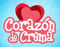 Pack Helados Corazón de Crema