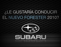 Banner Web Subaru Forester (Pregonero Web)