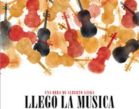 ¡Llegó la música! - Afiche de teatro 2013