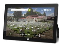 CEISMIC Windows 8 App