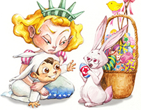 Easter NewYorker Cover