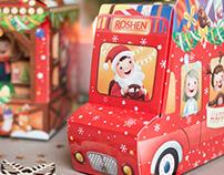 Roshen sweets packaging