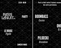 Flyer / Paris La Nuit Party