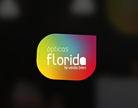 Ópticas Florida Rebranding