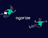 Agorize Business Website Landing Page