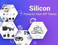 Silicon - Startup & Technology WP Theme