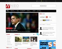 Shaper Neo, Joomla Responsive Ready Magazine Template