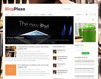 BlogPlaza, Joomla Responsive Blog Magazine Template