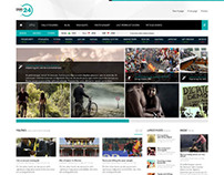 NEWS24, Joomla Responsive News Magazine Portal Template