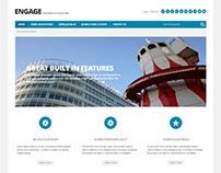 Engage, Joomla Responsive Architecture Portfolio Templa