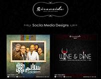 Riverside Social Media Designs