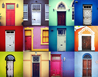 The Doors of Bo-Kaap.