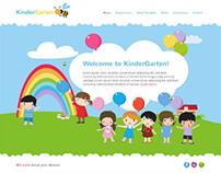 KinderGarten, Joomla Funny Kids Child Blog Template