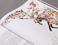 "Illustrations for ""Grip"" Fashion Magazine"