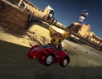 """""""PS3 Pre-Order"""" Mod Nation Racers - Sony Playstation"""
