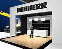Liebherr Custom Exhibits 2010