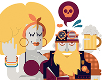 Editorial Illustrations 2012-13