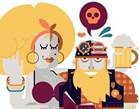 Editorial Illustrations 2012-13