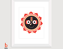 Instant Download Jagannath Wall Art