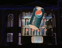 Video Mapping Pepsi - Usina do Gasômetro - PORTO ALEGRE