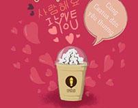Caztus Valentine 2012 | Poster