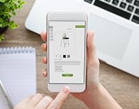 Rental Catalog Website & App Design