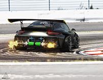 Porsche GT3RS Ariandesign EVO-2 action001