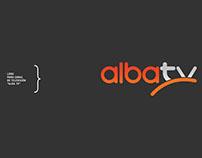 """Logo para canal de televisión """"Alba TV"""""""