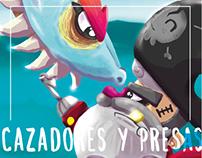 """Sexta Exposición de 27PM """"Cazadores y presa"""""""