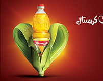 "Crystal Oil ""Heart loves Crystal"" Campaign"