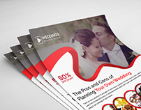 Wedding Event Planner Flyer