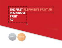 Correio da Manhã - The First Responsive Print Ad