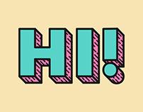 Assorted Typography