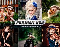 Portrait HDR Presets