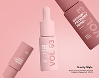 Serum Bottle Mockups - Beauty Product Packaging VOL 3
