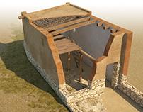 Iberian home, IV-II century BC