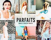 Free Parfaits Mobile & Desktop Lightroom Presets