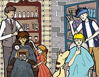 The Doors- Haircutting